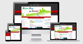 Graphisme du site Astarac Arros en Gascogne